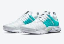 Nike Air Presto Aquamarine Lime Glow DJ6899-100 Release Date Info