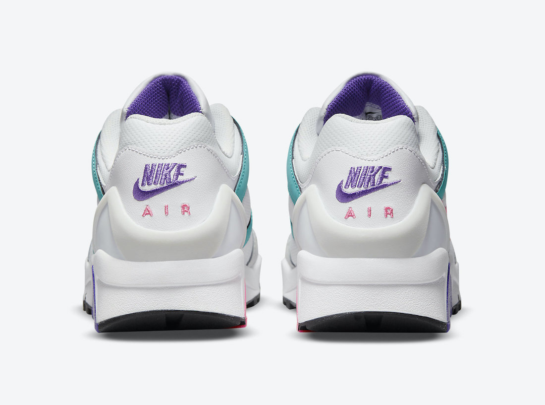 Nike Air Structure Triax 91 White Teal Pink Purple CZ1529-100 Release Date Info