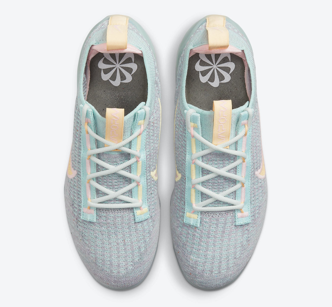 Nike Air VaporMax 2021 Aqua Mango DH4088-300 Release Date Info