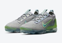 Nike Air VaporMax 2021 Grey Neon DH4084-003 Release Date Info