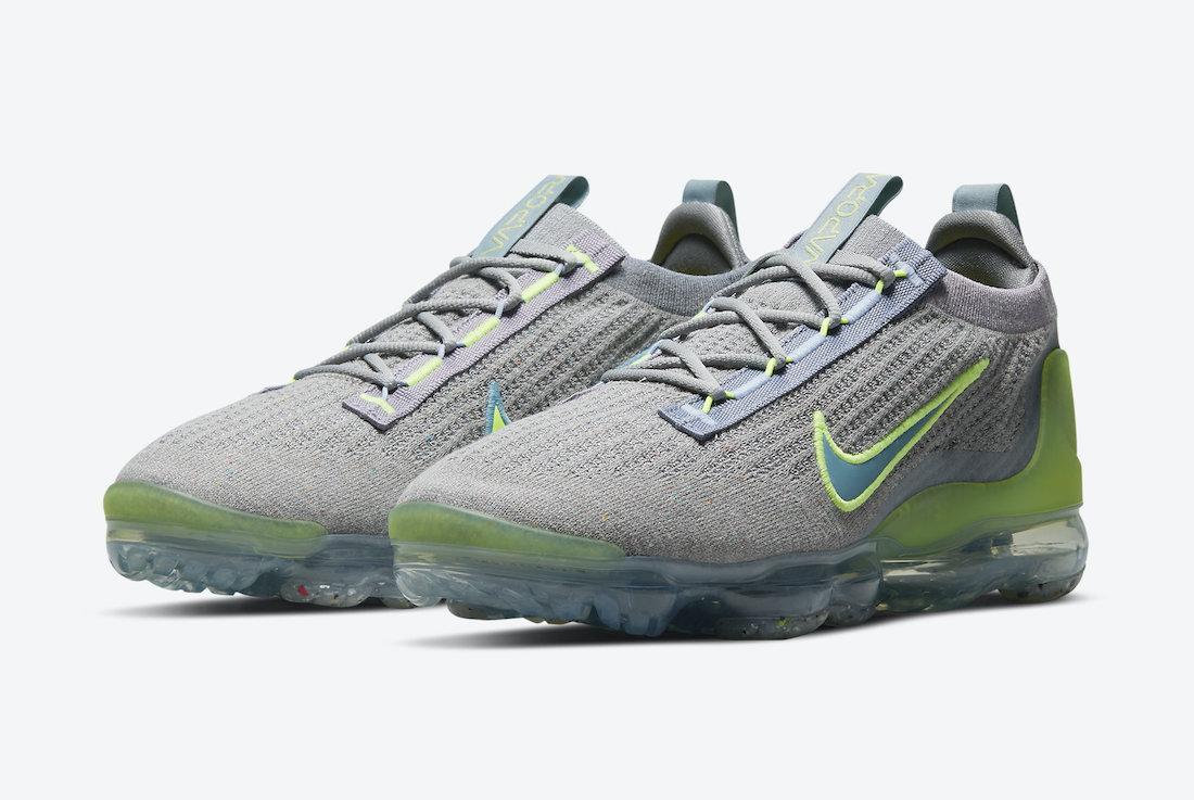 Nike Air VaporMax 2021 Grey Neon DH4084-003 Release Date Info