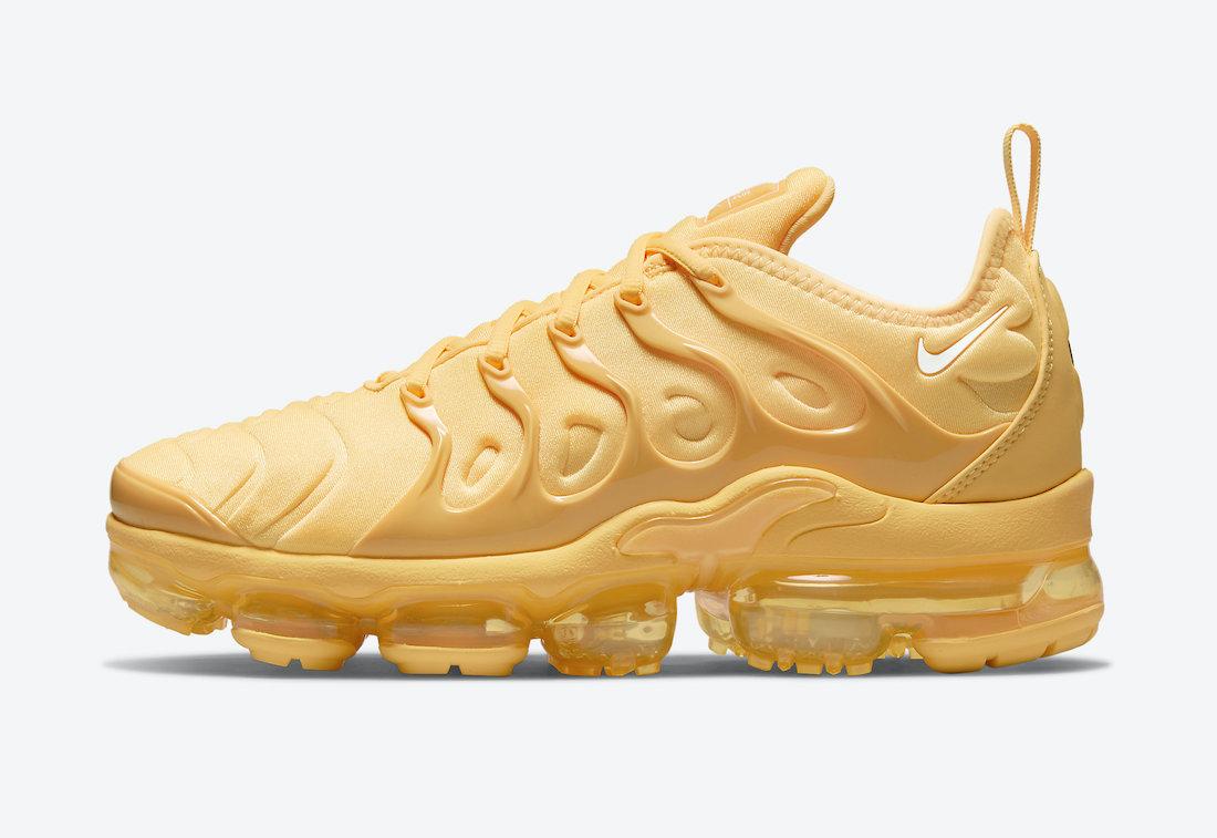 Nike Air VaporMax Plus Pastel Yellow DJ5993-800 Release Date Info