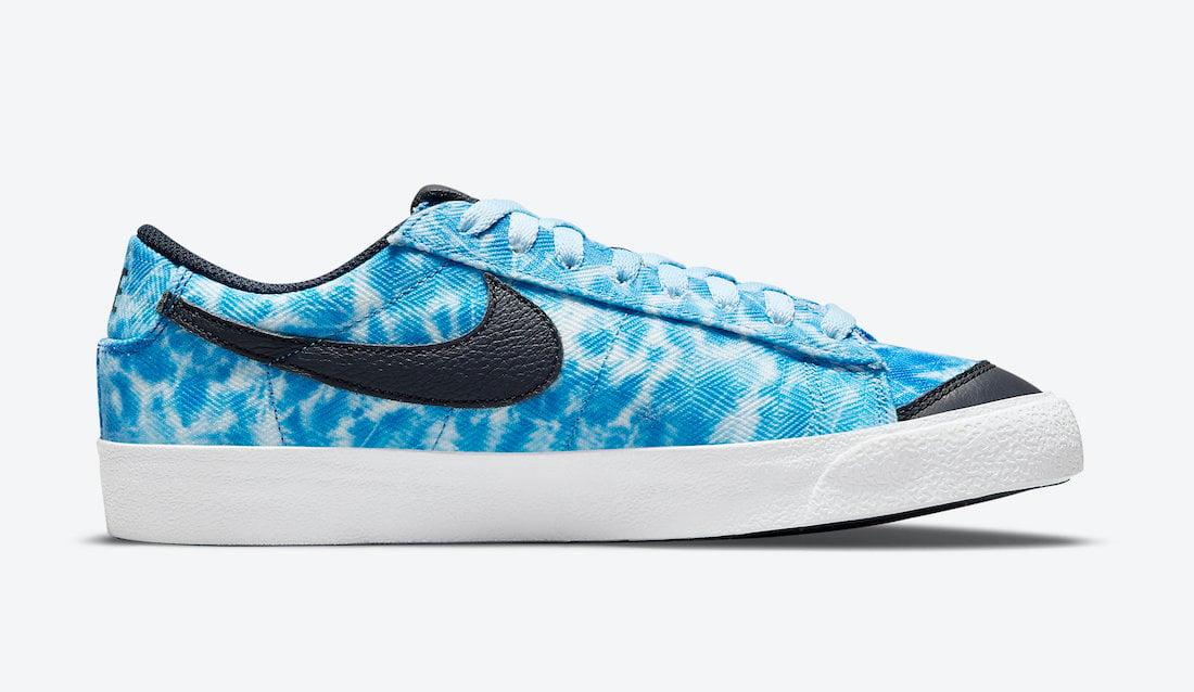 Nike Blazer Low Acid Wash DM3038-400 Release Date Info