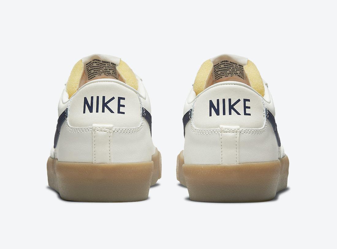 Nike Blazer Low Cream Navy Gum DM8334-100 Release Date Info