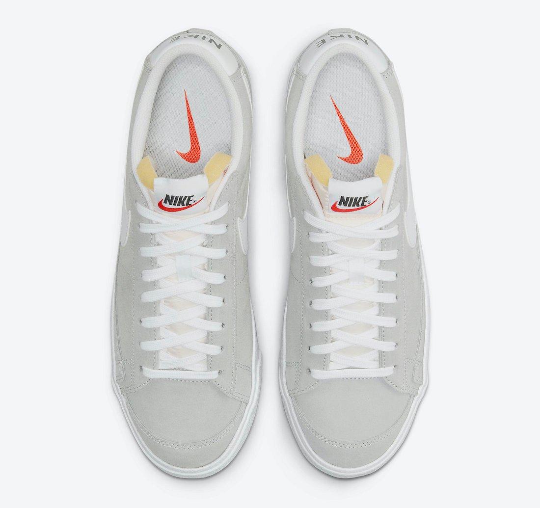 Nike Blazer Low Grey Suede DA7254-002 Release Date Info