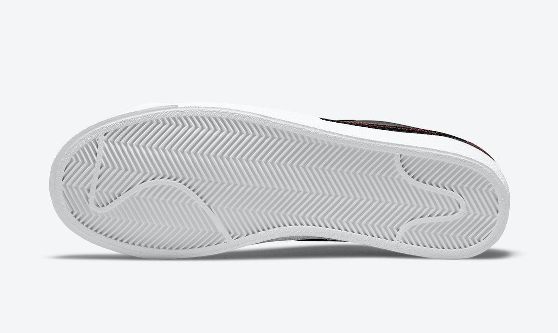 Nike Blazer Low Multi Stitch DJ6000-001 Release Date Info