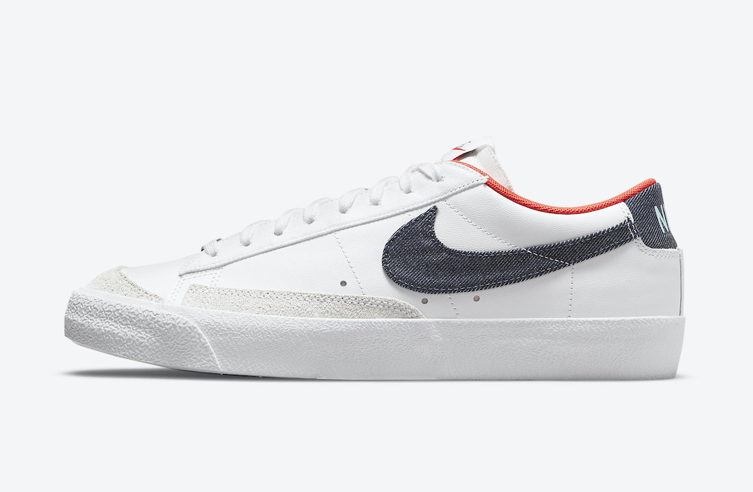 Nike Blazer Low USA Denim DJ6201-100 Release Date Info