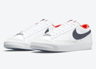 Nike Blazer Low USA Denim DJ6201-100 Release Date Info