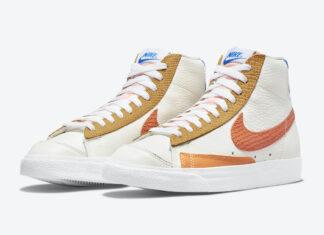 Nike Blazer Mid 77 Campfire Orange DM2872-100 Release Date Info
