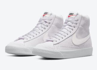Nike Blazer Mid 77 Suede Light Violet DC8248-500 Release Date Info