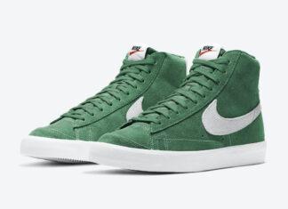 Nike Blazer Mid 77 Suede Pine Green CI1172-301 Release Date Info