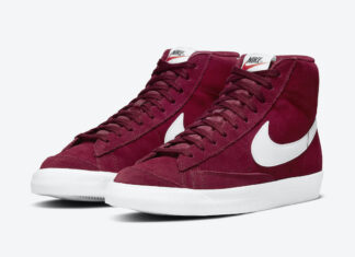Nike Blazer Mid 77 Suede Team Red CI1172-601 Release Date Info