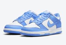 Nike Dunk Low GS University Blue CW1590-103 Release Date