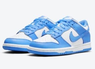 Nike Dunk Low GS University Blue CW1590-103 Release Date
