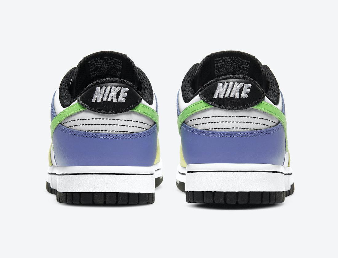 Nike Dunk Low Multi-Color DD1503-106 Release Date Info