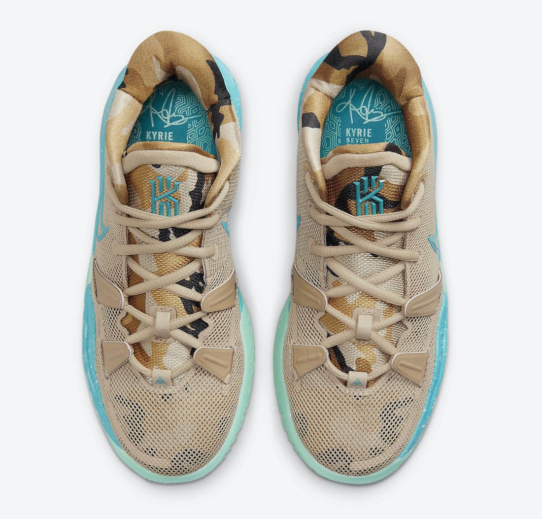 Nike Kyrie 7 Beach Camo CT4080-207 Release Date Info