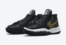 Nike Kyrie Low 4 Black White Yellow CZ0105-001 Release Date Info