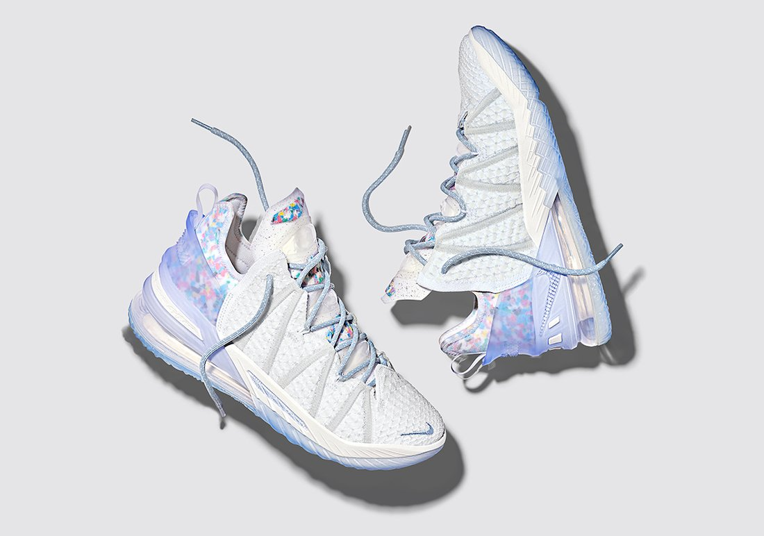 nike lebron 18 all star play for the future CW3156 400 release date info