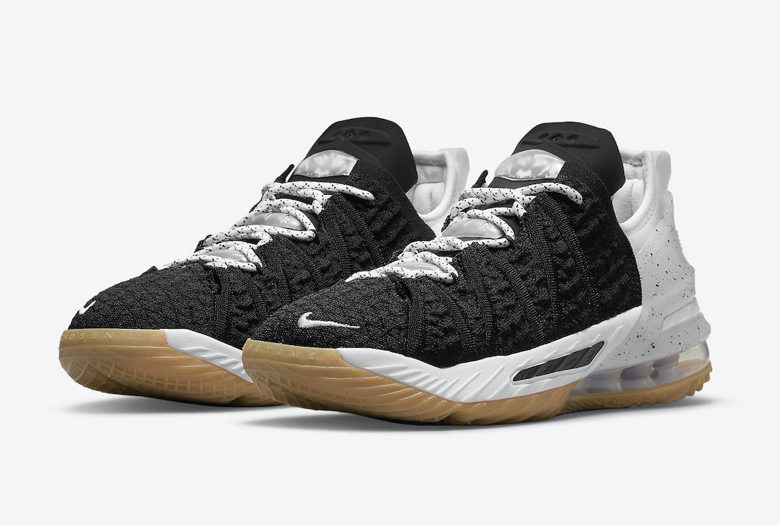 Nike LeBron 18 Black Gum CW2760-007 Release Date Info