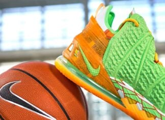Nike LeBron 18 FAMU PE Florida AM University Athletics