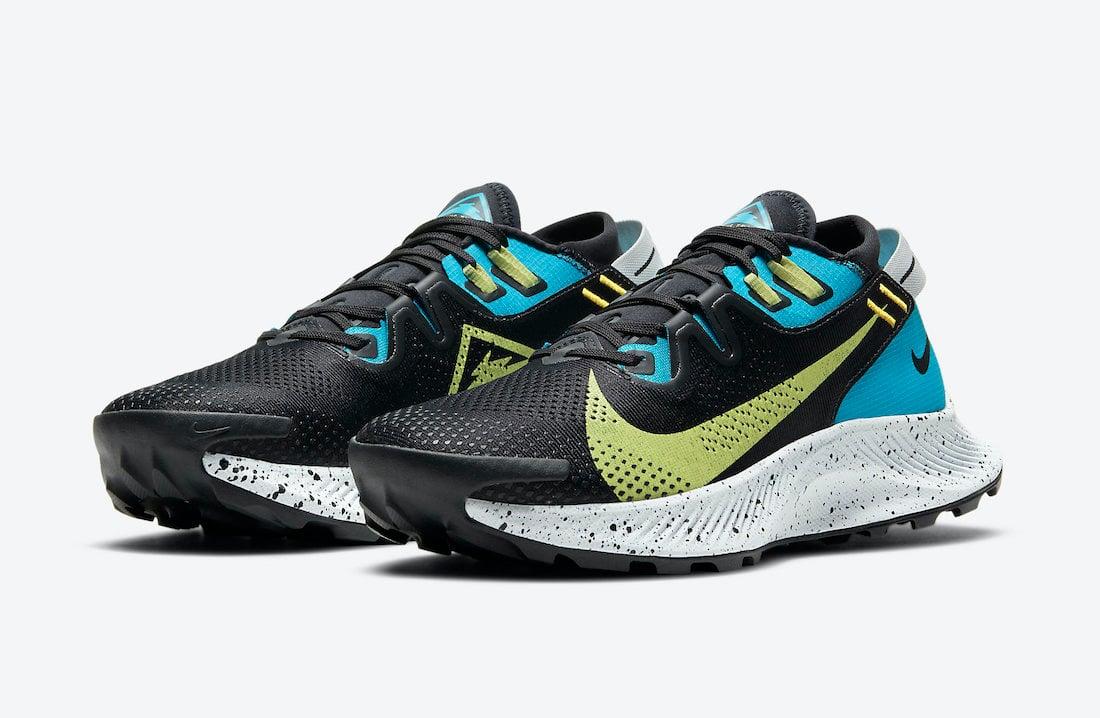 Nike Pegasus Trail 2 Laser Blue Limelight CK4309-003 Release Date Info