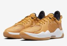 Nike PG 5 Beige Gold CW3143-700 Release Date Info