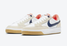 Nike SB Adversary Premium White Turf Orange Midnight Navy CW7456-102 Release Date Info