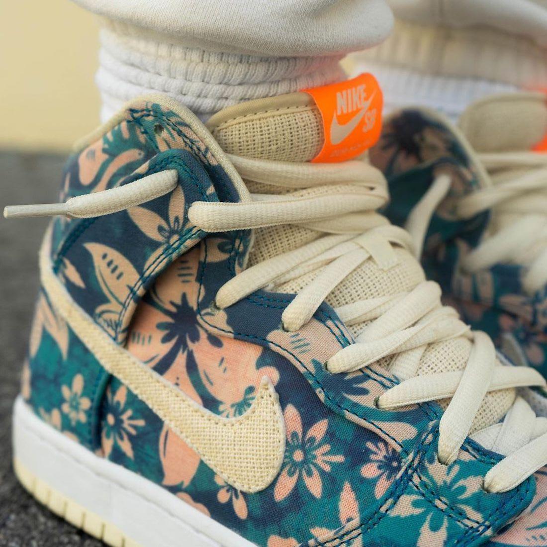 Nike SB Dunk High Hawaii CZ2232-300 Release Date Info