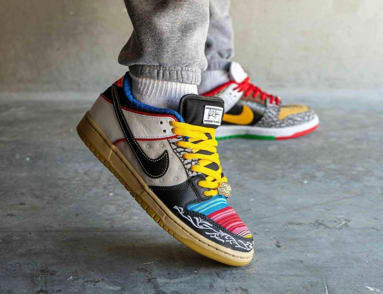Nike SB Dunk Low What The P-Rod CZ2239-600 On-Feet