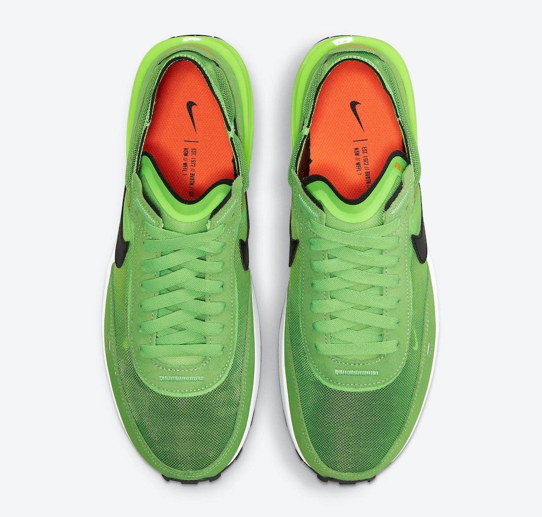 Nike Waffle One Electric Green DA7995-300 Release Date Info