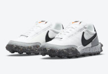 Nike Waffle Racer Crater White Black Grey CT1983-104 Release Date Info