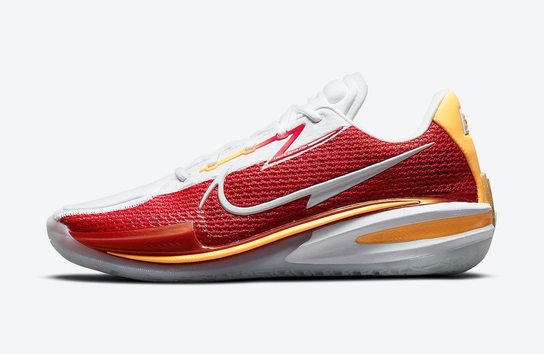 Nike Zoom GT Cut White Red CZ0176-100 Release Date Info