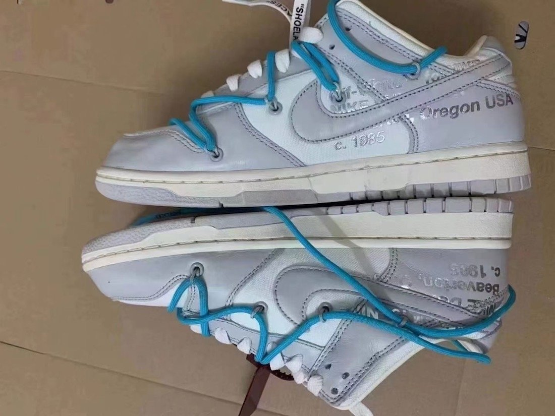 Off-White Nike Dunk Low 02 of 50 Release Date