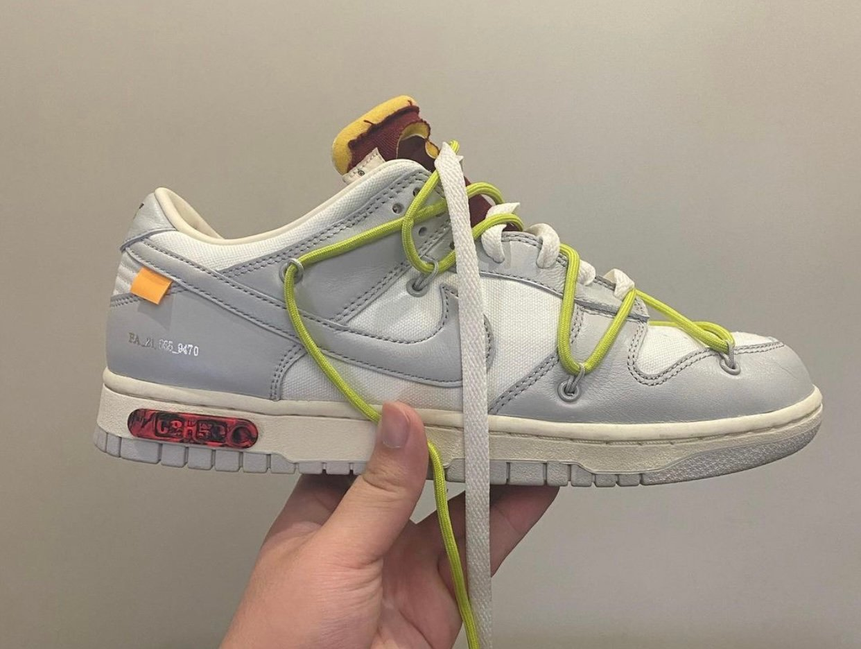 Off-White Nike Dunk Low 08 of 50 Release Date