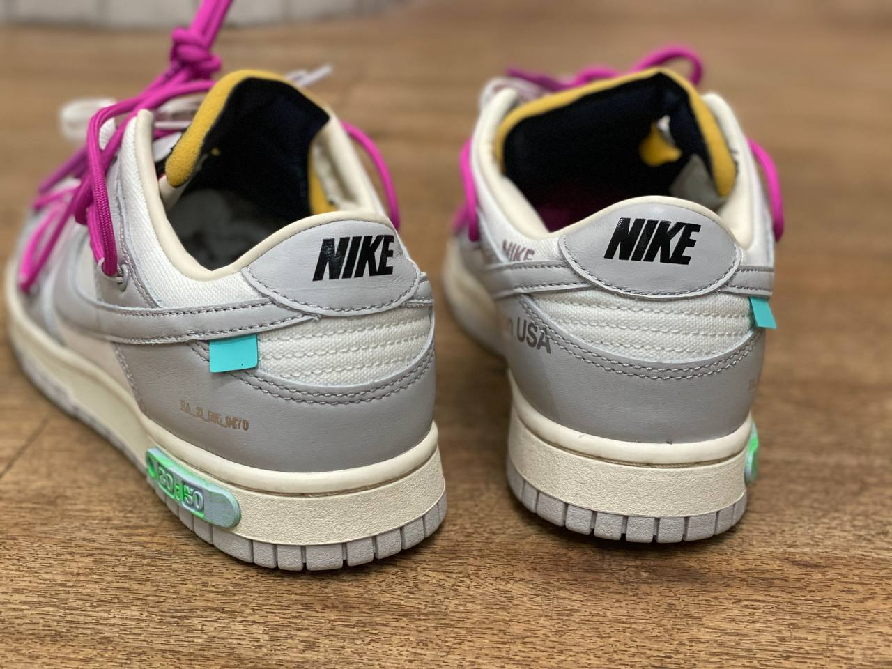 Off-White Nike Dunk Low 30 of 50 Release Date