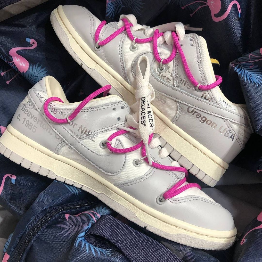 Off-White Nike Dunk Low The 50 Collection Release Date Info