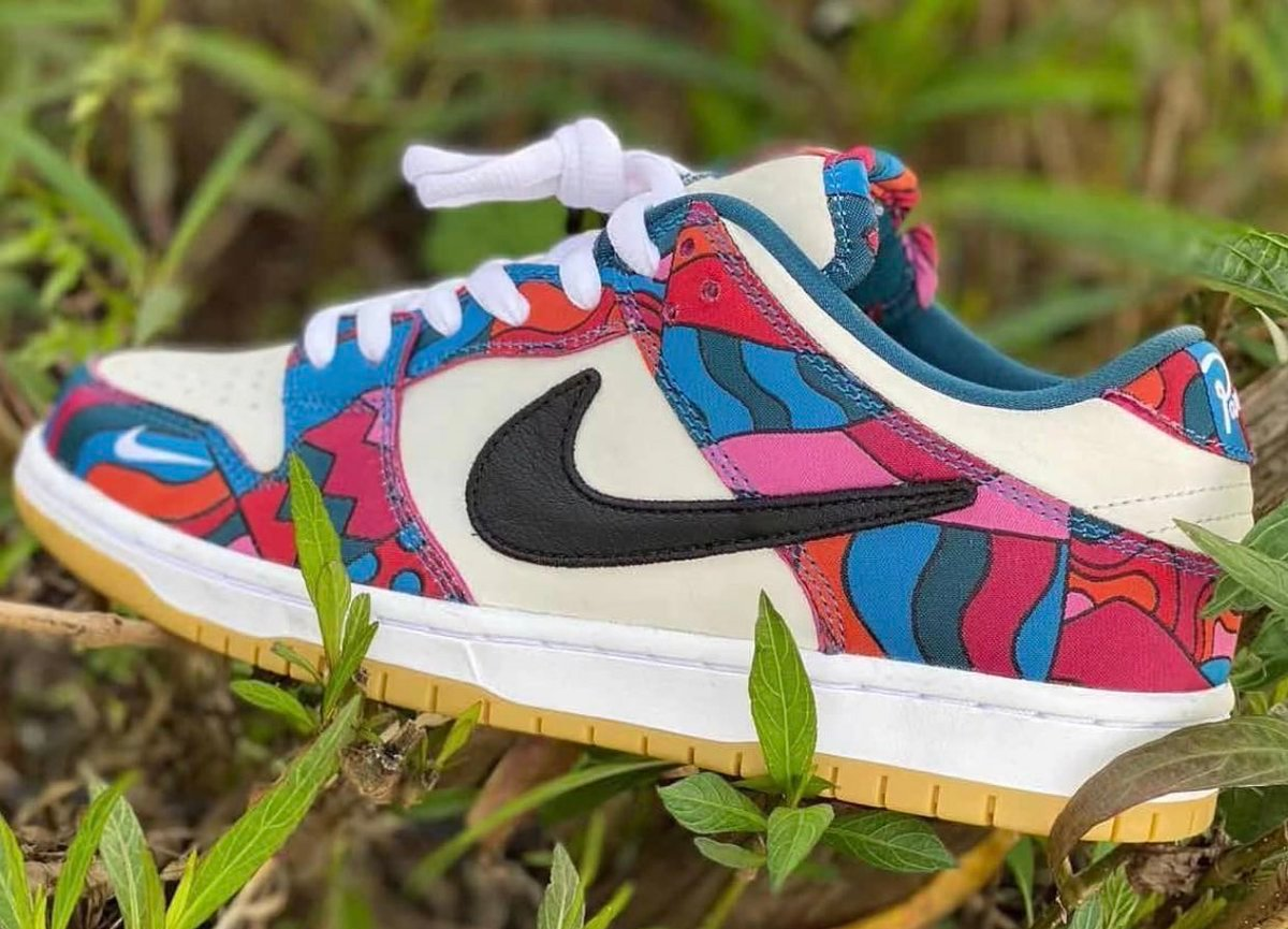 Parra Nike SB Dunk Low DH7695-102 Leak