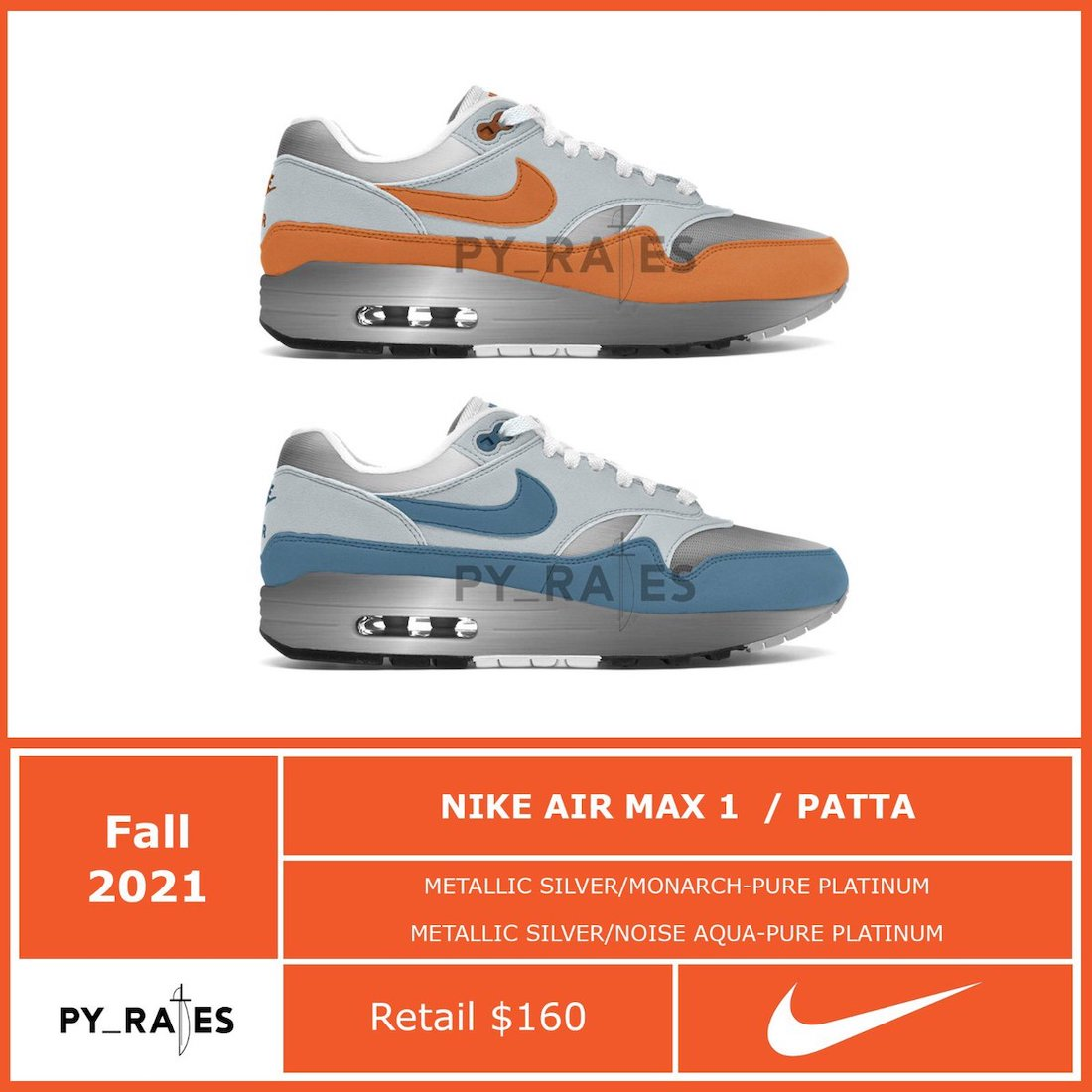 Patta Nike Air Max 1 Release Date Info
