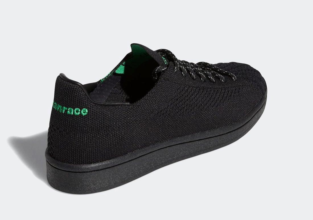 Pharrell adidas Superstar Primeknit Black GX0195 Release Date Info
