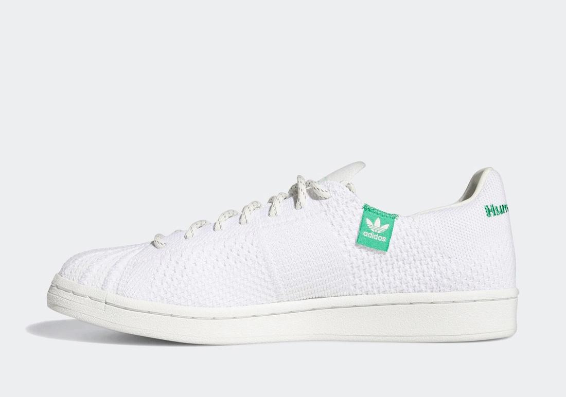 Pharrell adidas Superstar Primeknit White GX0194 Release Date Info
