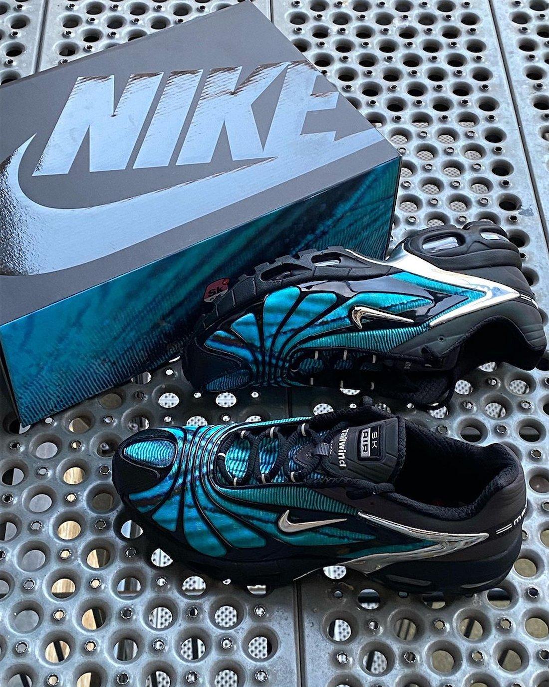Skepta Nike Air Max Tailwind V 5 Bright Blue Release Date
