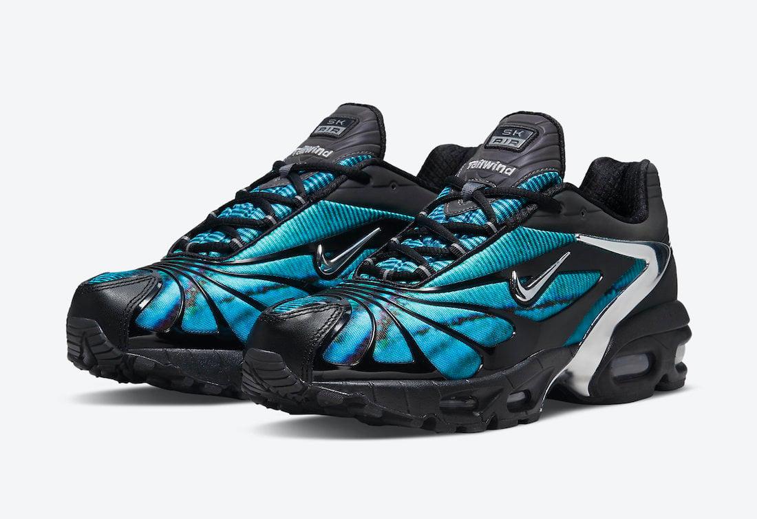 Skepta Nike Air Max Tailwind V 5 Bright Blue CQ8714-001 Release ...