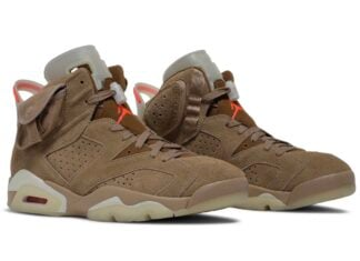 Travis Scott Air Jordan 6 British Khaki DH0690-200