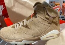 Travis Scott x Air Jordan 6 British Khaki DH0690-200