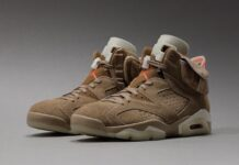 Travis Scott x Air Jordan 6 British Khaki DH0690-200 Release Info Price