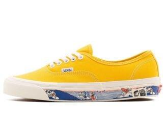 Vans Anaheim Factory Authentic 44 DX Yellow Release Date Info