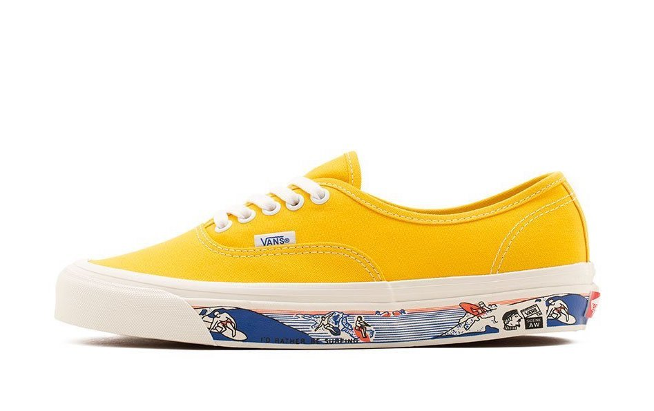 Vans Anaheim Factory Authentic 44 DX Yellow Release Date Info