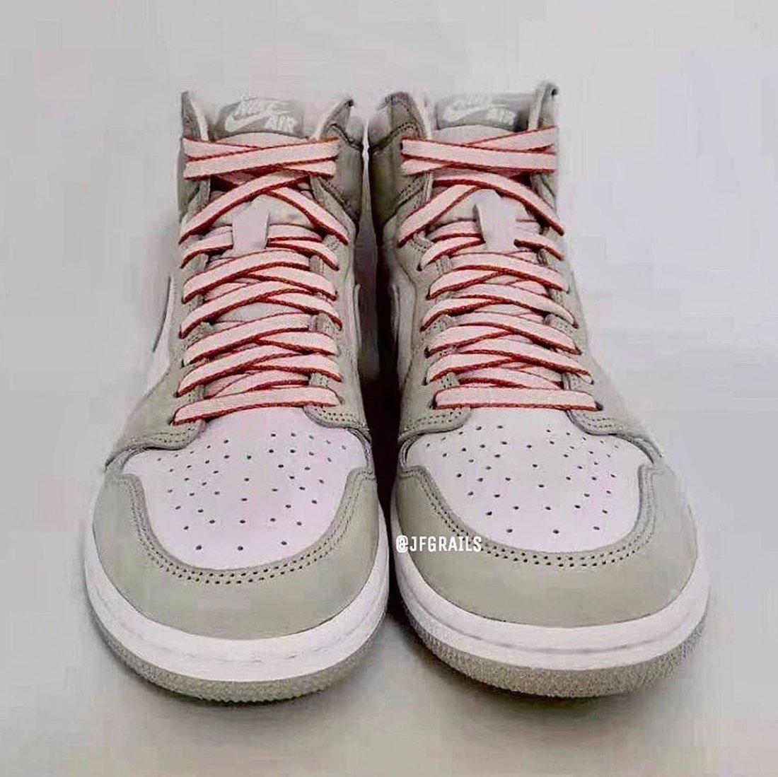 Womens Air Jordan 1 Seafoam Healing Orange CD0461-002 Release Date