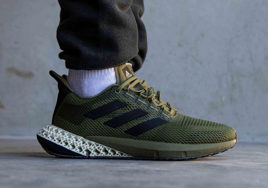 adidas 4D Kick Olive Green Q46219 Release Date Info