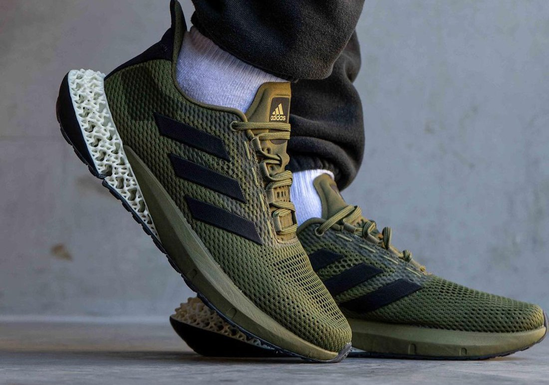 adidas 4D Kick Olive Green Q46219 Release Date Info
